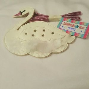 NWT Limited Too Swan Purse